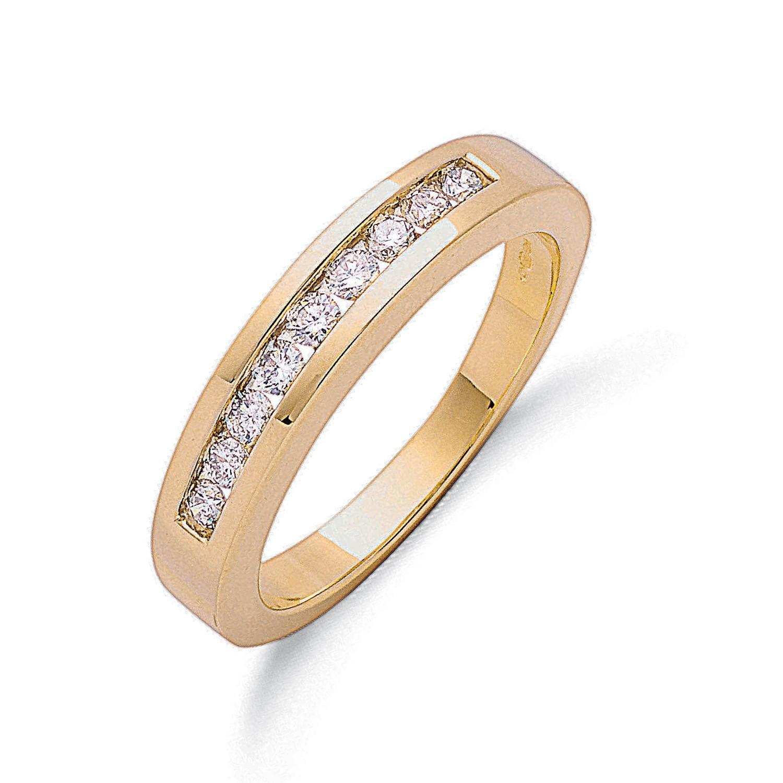 9ct Y/G 0.35ct Diamond Eternity Ring