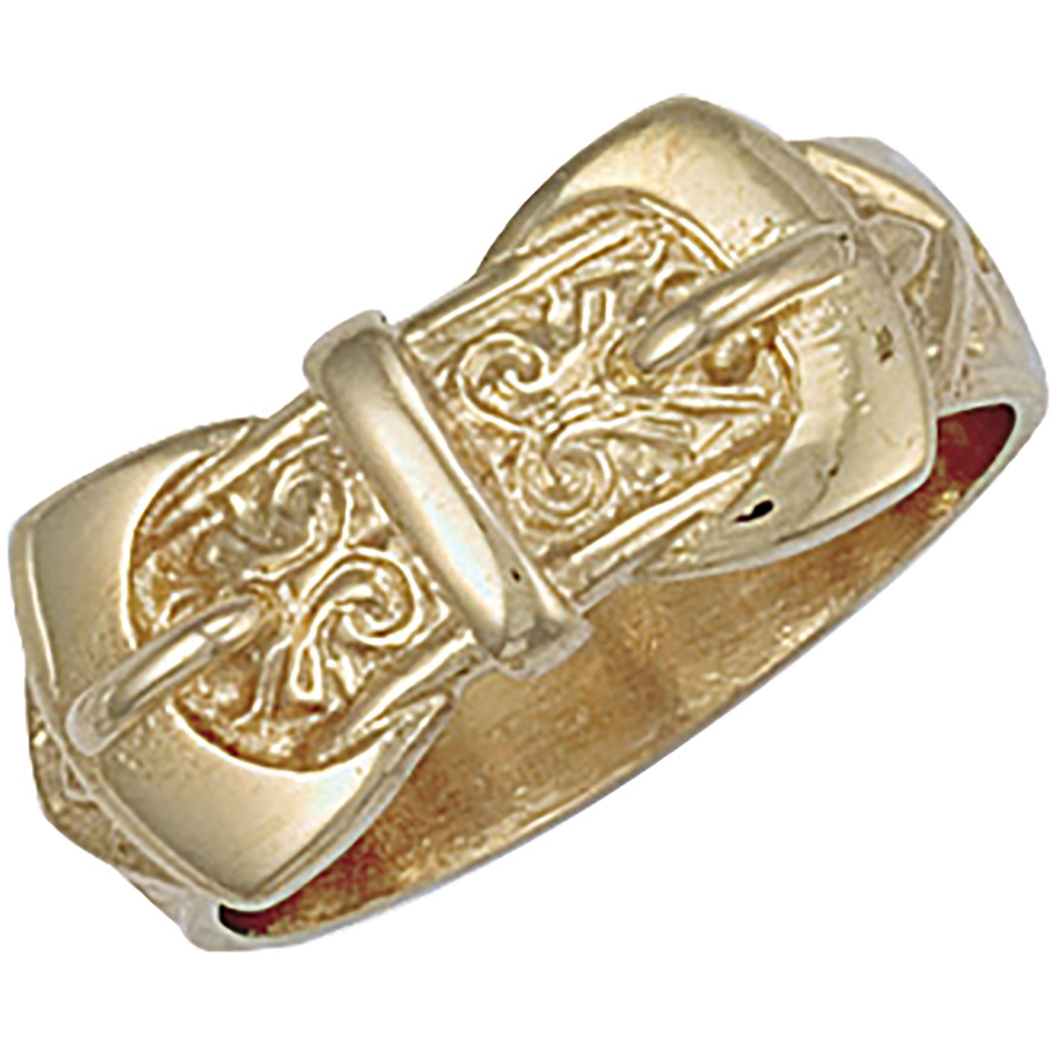 Y/G Double Buckle Ring