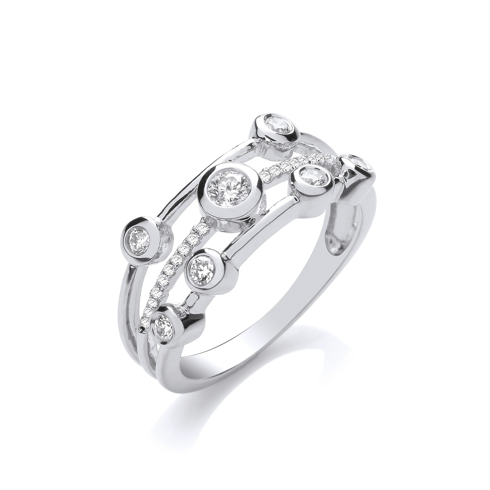 9ct White 0.33ctw Diamond Dress Ring