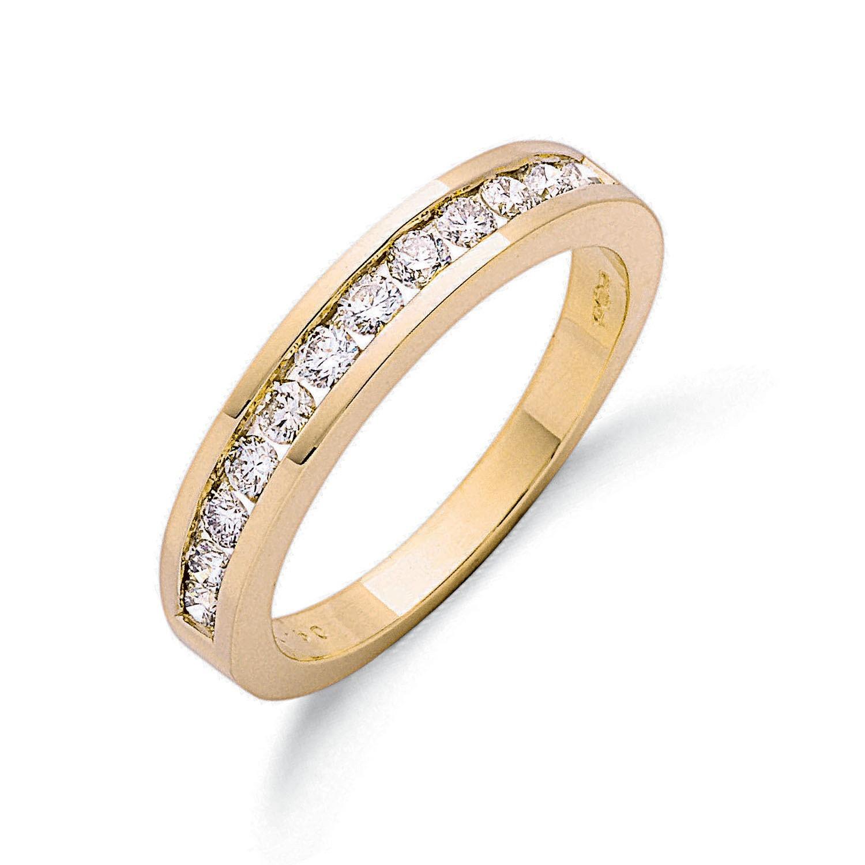 9ct Y/G 0.50ct Diamond Eternity Ring