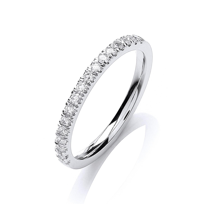 18ct White Gold 0.25ct Ring