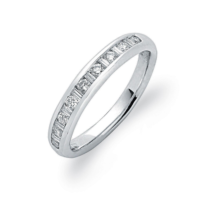 18ct White Gold 0.33ctw Diamond Eternity Ring