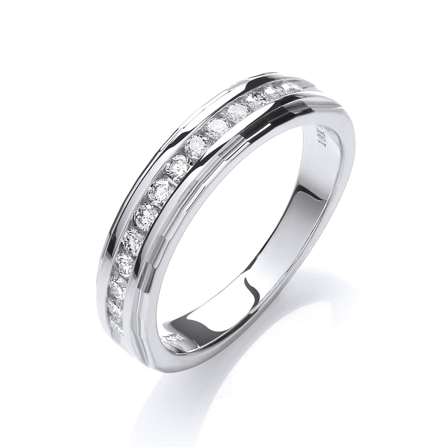 18ct White Gold 0.25ctwDiamond Eternity Ring