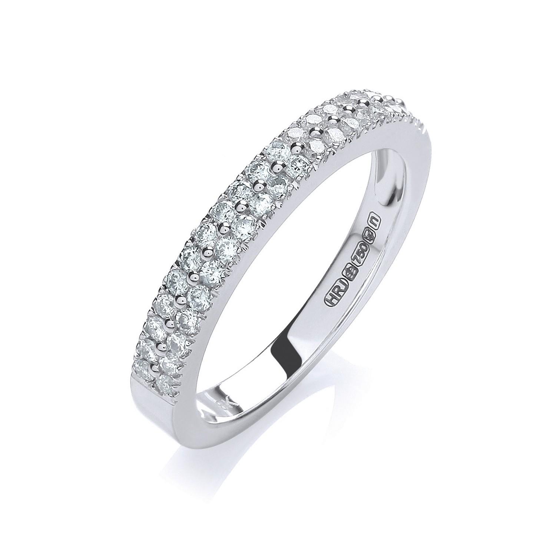 18ct White Gold 0.35ctw Diamond Eternity Ring