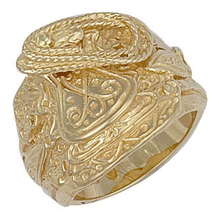 Selling: Y/G Saddle Ring