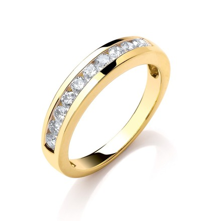 Selling: 18ct Yellow Gold 0.50ctw Diamond Eternity  Ring