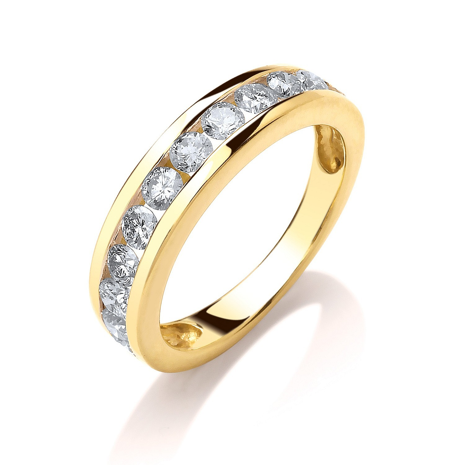18ct Yellow Gold 0.75ctw Diamond Eternity  Ring