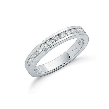 Selling: Platinum 0.50ct G/H-Vs Diamond Eternity Ring