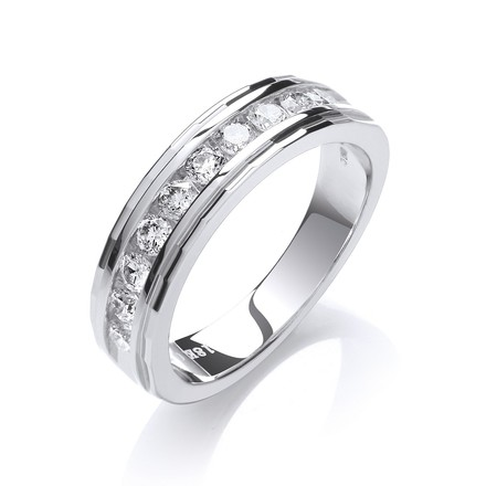 Selling: 18ct White Gold 0.50ctw Diamond Eternity Ring