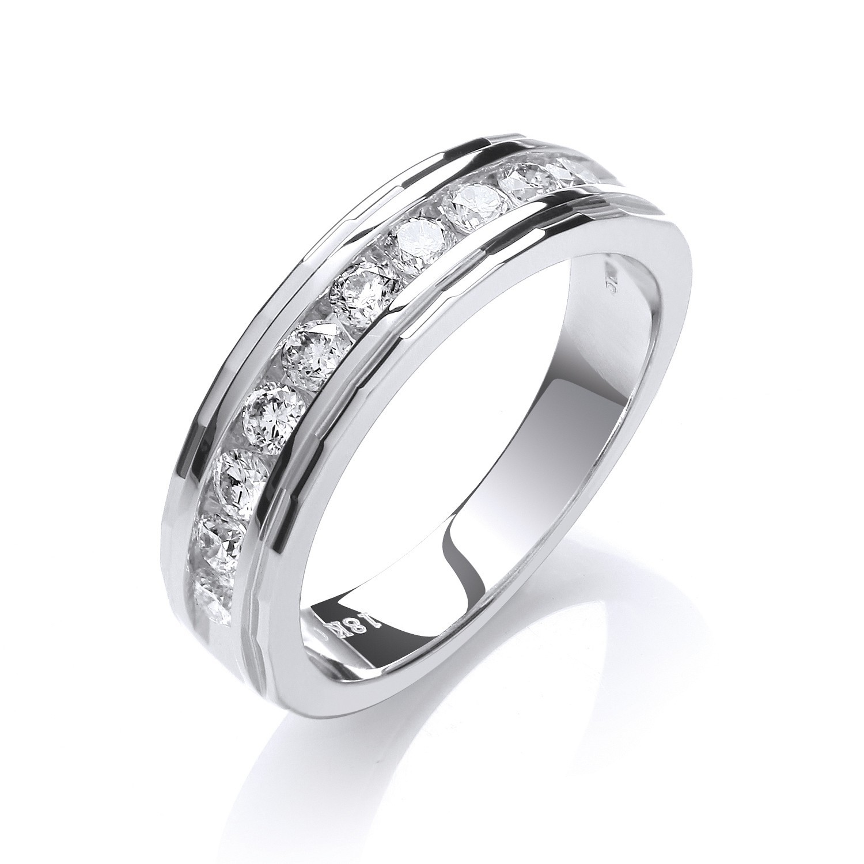 18ct White Gold 0.50ctw Diamond Eternity Ring