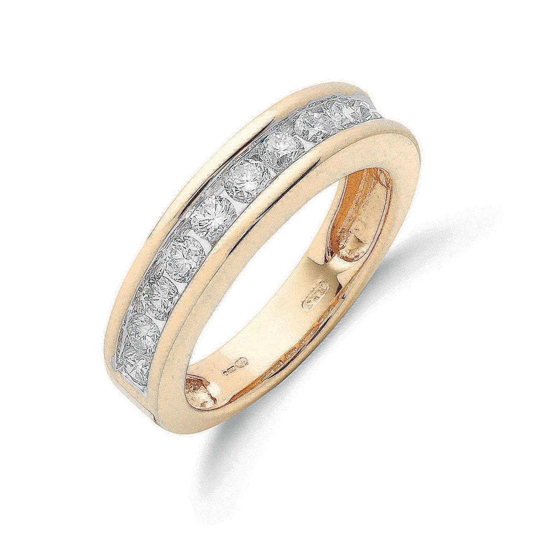 18ct Yellow Gold 1.00ctw Diamond Eternity  Ring