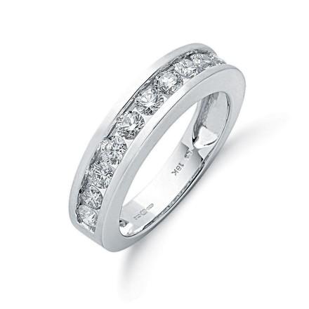 Selling: 18ct White Gold 1.00ctw Diamond Eternity Ring