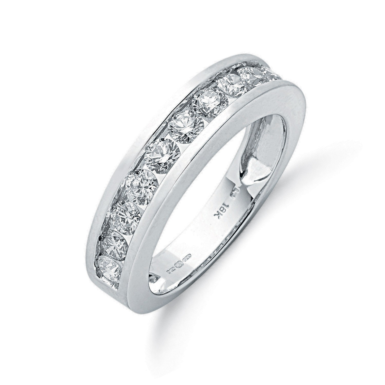18ct White Gold 1.00ctw Diamond Eternity Ring