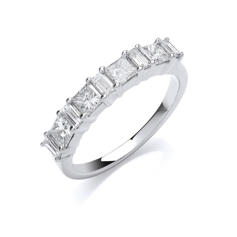 18ct White Gold 1.00ct Diamond Ring
