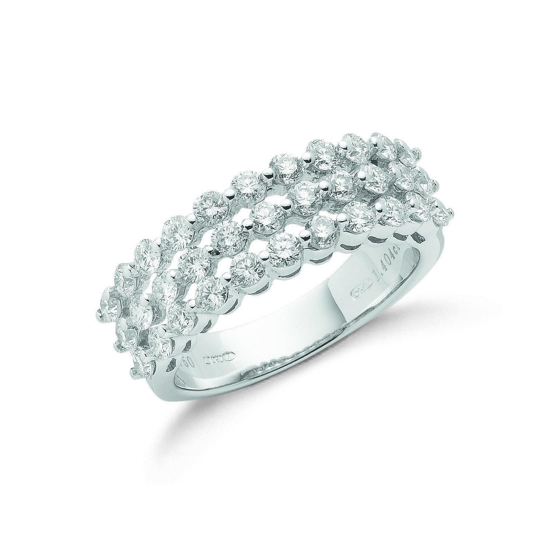 18ct White Gold 1.45ct Diamond Ring