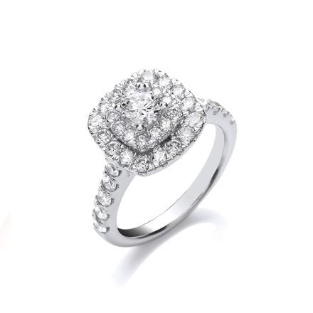 Selling: 18ct White Gold 1.50ct Diamond Ring