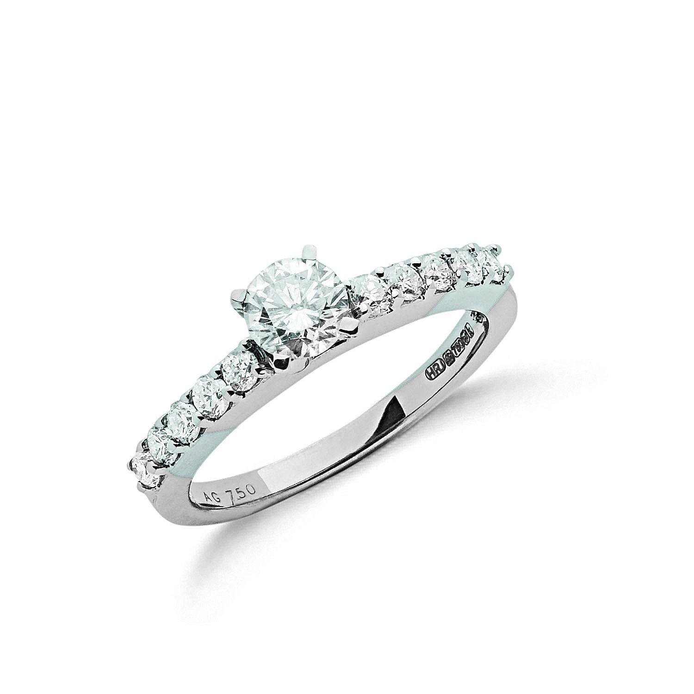 18ct White Gold 1.00ct Diamond Engagement Ring