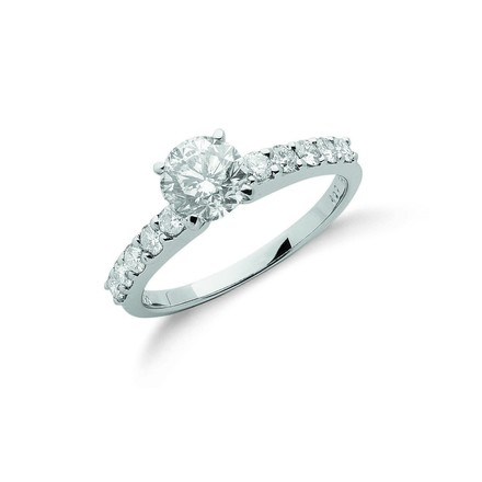 Selling: 18ct White Gold 1.50ct Diamond Engagement Ring