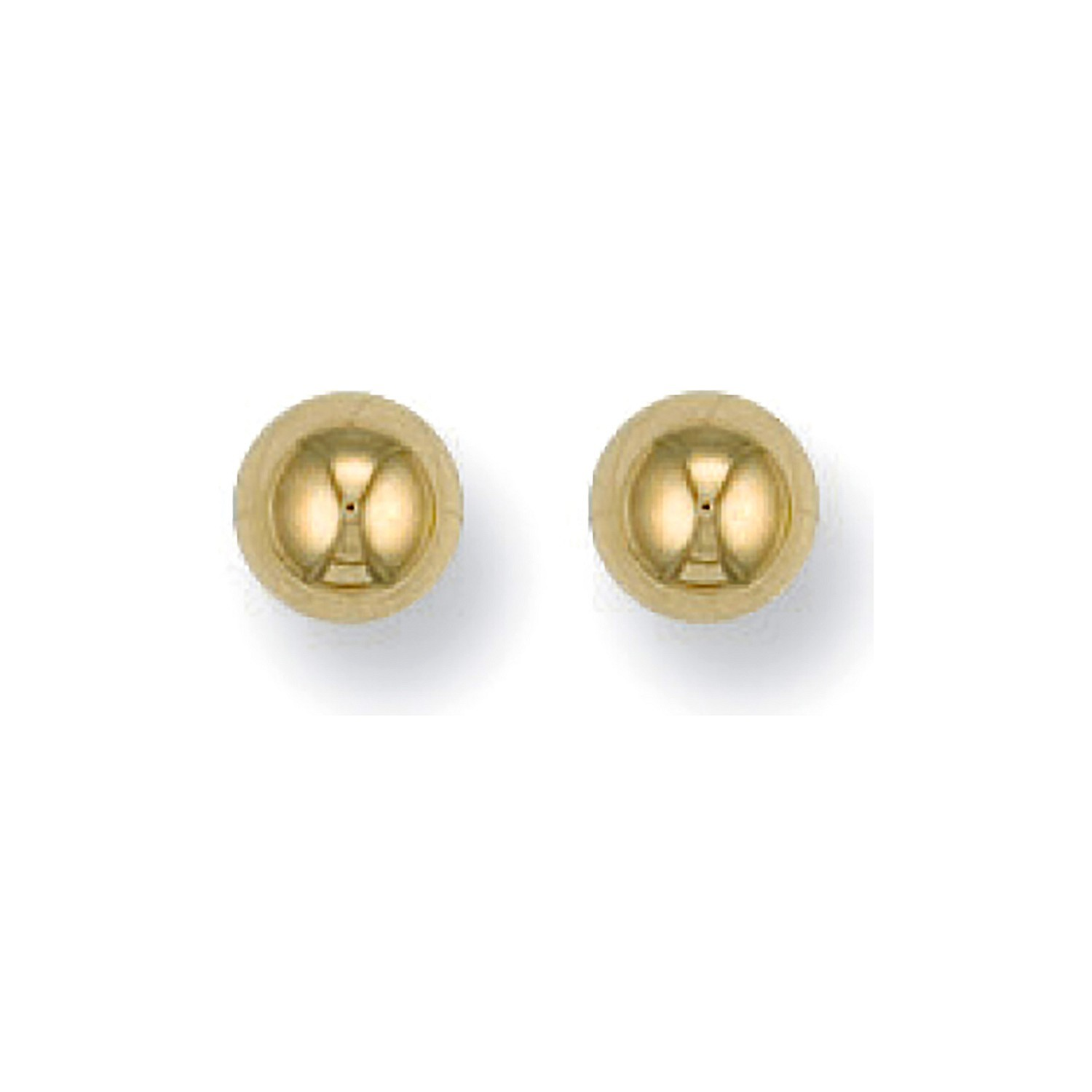 9ct Y/G 5mm Ball Studs