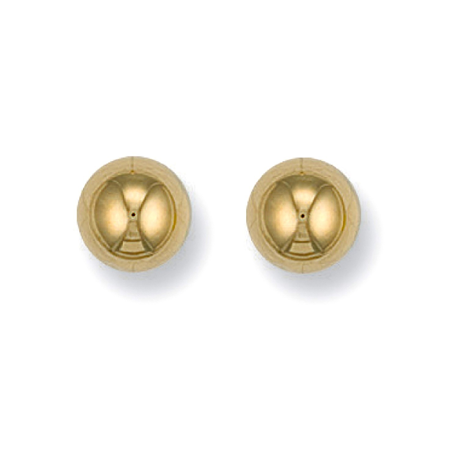 9ct Y/G 8mm Ball Studs