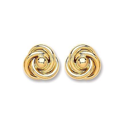 Selling: 9ct Gold Medium Knot Stud