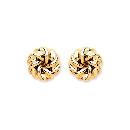 Selling: 9ct Y/G Tight Knot Stud