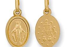 Selling: Y/G Miraculous Medallion Pendant