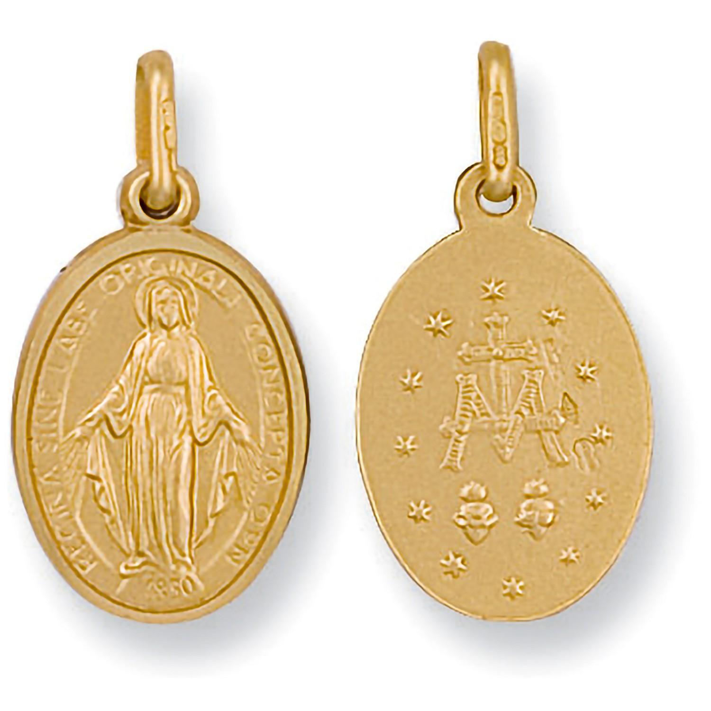Y/G Miraculous Medallion Pendant