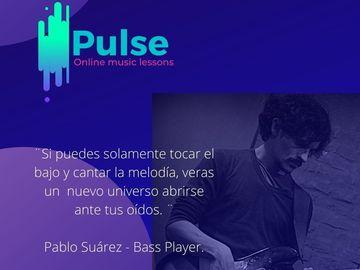 Clases: Pulse - Formación para Bajistas