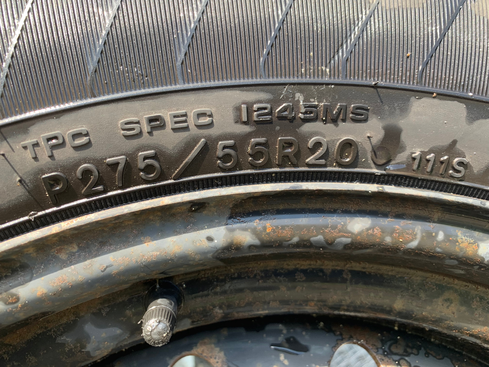 """20"""" Goodyear Eagle Tire and Rim"""