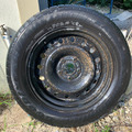 "Sell: 20"" Goodyear Eagle Tire and Rim"