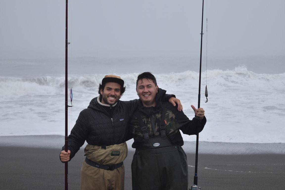 Pesca de mar en las Orillas de Curanipe
