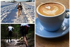 PARTNER FÜR SPORT & FREIZEIT: Kaffee trinken, Spazieren gehen, Sport machen
