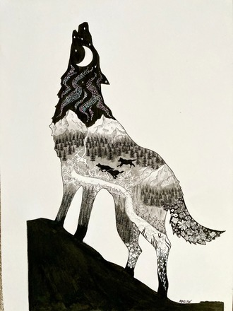 Selling: Howling Wolf
