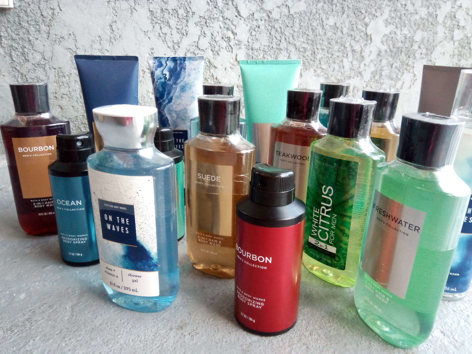 Men's Body Wash & Spray