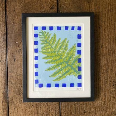 Selling: Fern Lino print