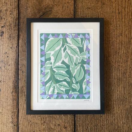 Selling: Pittosporum Lino Print