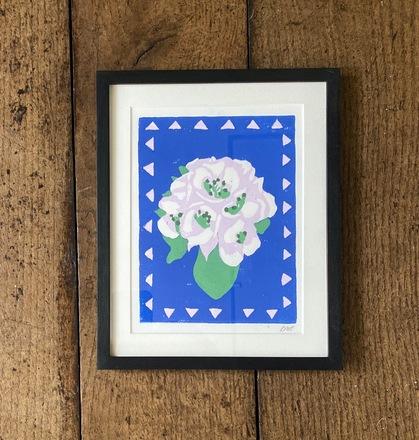Selling: Blossom Lino Print
