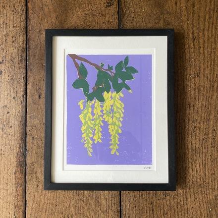 Selling: Laburnum Lino Print