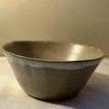 Selling: Medium Terracotta Bowl in a Matt 'Fat Cream' Glaze