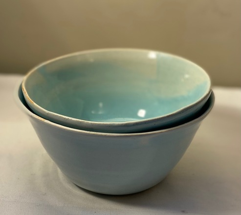Pair of Turquoise Bowls