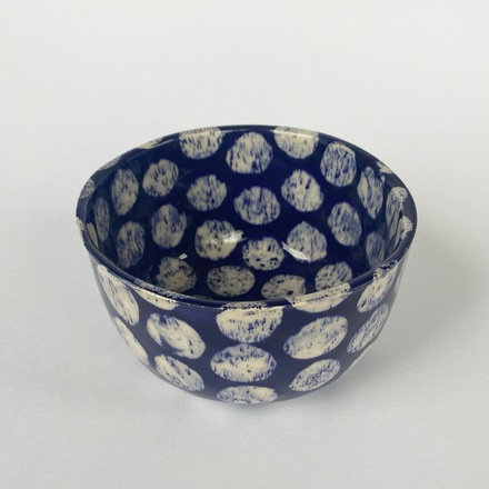 Cornflower Spotted Bowl