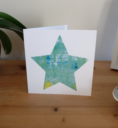 Selling: Mizzle - Seascape Star Card based on St Ives, Cornwall