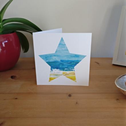 Selling: Shorebreak - Seascape Star Card based on St Ives, Cornwall