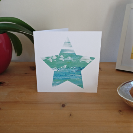 Selling: It's a Washout - Seascape Star Card based on St Ives, Cornwall