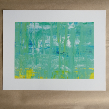 Selling: Mizzle - Abstract Seascape Fine Art Giclee Print