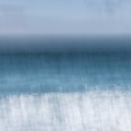 Selling: In Blue - Sennen II  / Abstract Cornish Seascape / A3 Print