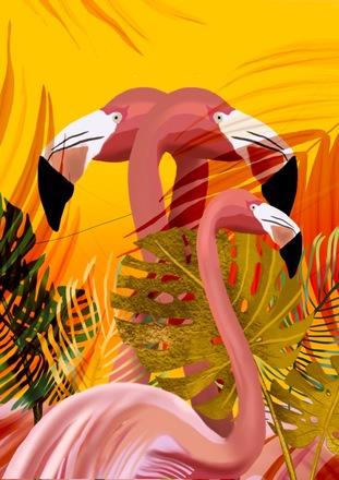 Selling: Flamingo Paradise A2