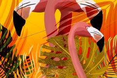 Flamingo Paradise A2