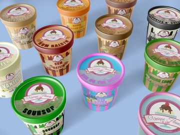 Unique Flavors Ice Cream